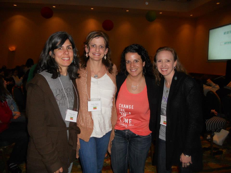 My roomies at the conference - lovely ladies, all.